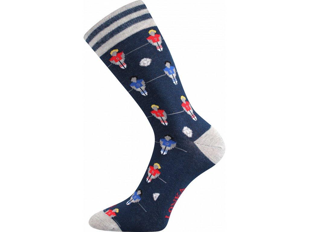 Ponožky pánské WOODOO fotbálek veselé obrázkové vtipné - (Velikosti ponožek 26-28 (39-42))