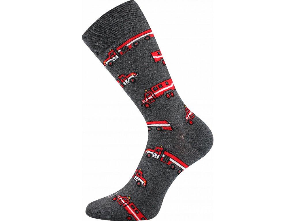 ponozky panske depate l hasici1 vesele obrazkove vtipne superfit store