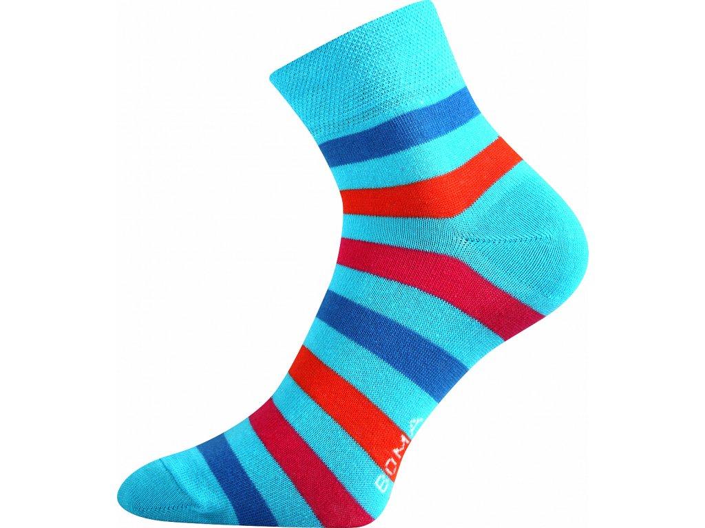 ponozky prouzky jana 42 modra a vesele obrazkove vtipne superfit store