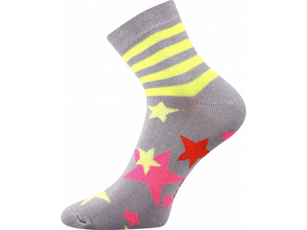 ponozky hvezdy pruhy jana 45 seda a vesele obrazkove vtipne superfit store