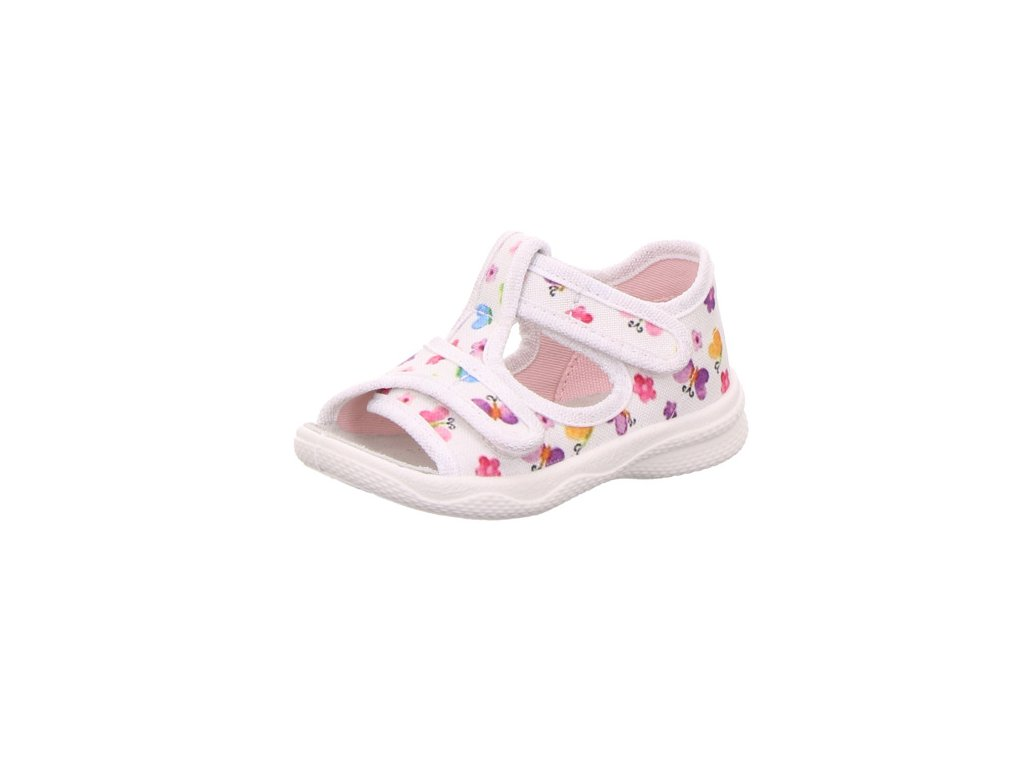 Dětské dívčí kotníkové sandály Superfit 0 600293 1000