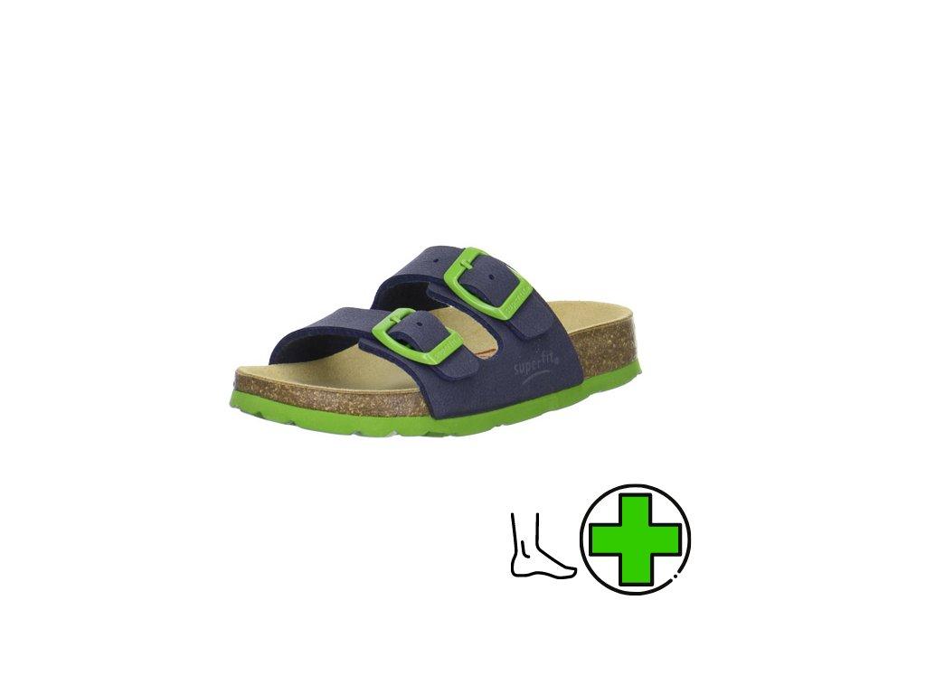 superfit 0 200111 8200 bio korkove pantofle superfit store