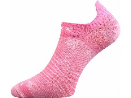 Ponožky kotníkové Rex 01 dívčí ženský mix B (Barvy ponožek Růžová B, Velikosti ponožek 26-28 (39-42))