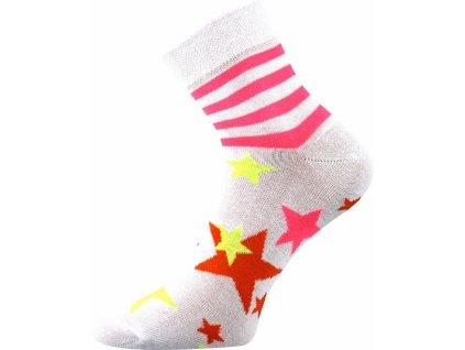 ponozky hvezdy pruhy jana 45 bila a vesele obrazkove vtipne superfit store