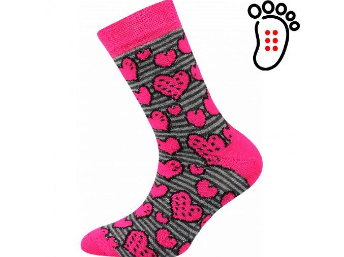 ponozky srdicka filip02 abs vesele obrazkove vtipne superfit store