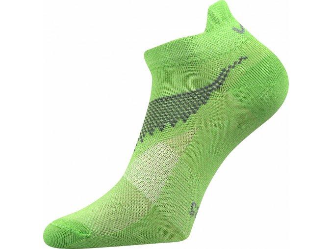 Ponožky kotníkové Iris zelená A - (Barvy Zelená A, Velikosti ponožek 32-34 (48-51))