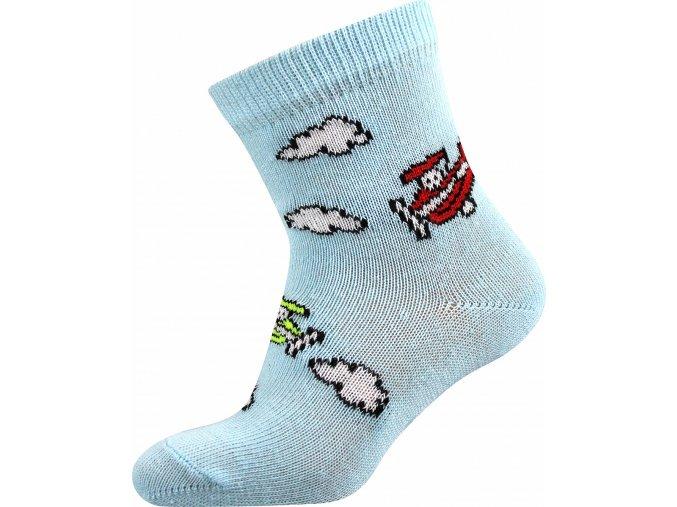 Ponožky protiskluzové FILÍPEK ABS chlapecké (Velikosti ponožky 12-14 (18-20), Obrázky Kotva)