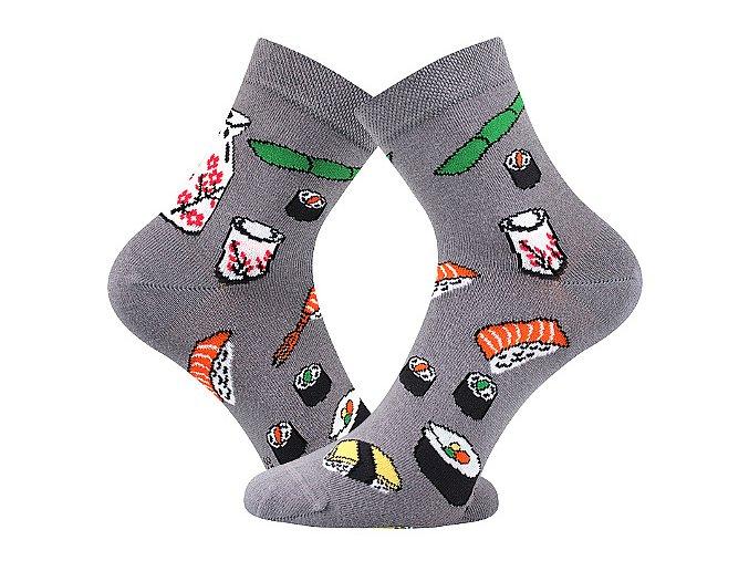 ponozky sushi dedot seda a vesele obrazkove vtipne superfit store